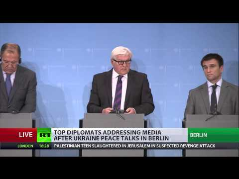 Kiev govt, Russia, Germany, France agree E. Ukraine ceasefire