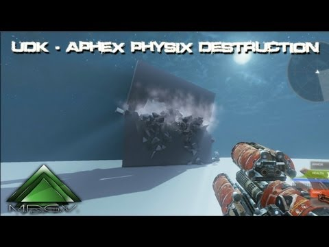 Unreal Engine 3 - Apex PhysX Destruction - Presentation by MRGV