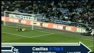 Top 10 Iker Casillas...