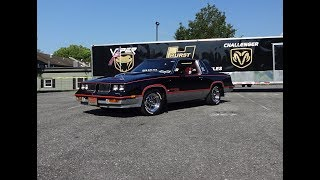 1983 Olds Cutlass Hurst/Olds 15th Anniversary # 466 & Engine Sound - My Car Story with Lou Costabile
