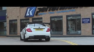 Benz (W204) C63 AMG w/ ARMYTRIX Cat-Back Valvetronic Exhaust in UK