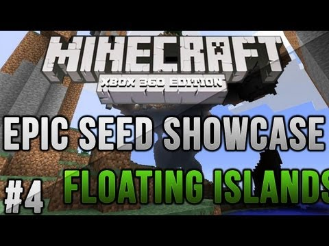 Minecraft Xbox 360/PS3: FLOATING MOUNTAINS   MCXBLA/PS3 Seeds   Ep. 4