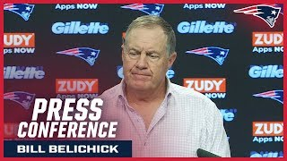 "Bill Belichick: ""We're gonna do what's best for the team, just like we always do"""