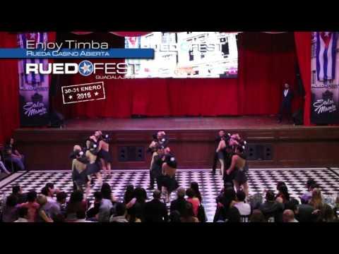 Enjoy Timba | Rueda Casino Abierta | Ruedafest 2016 | Guadalajara