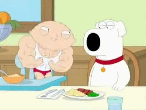 stewie on steroids episode 13 season 7