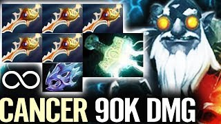 EPIC FREE HIT CANNON BUILD 2X RAPIER Sniper 90K Dmg Most Crazy Comeback Fun Dota 2 Gameplay