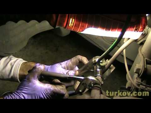 1999 Toyota Sienna Front Brake Pad & Rotor Replacement (Part 1 of 2)