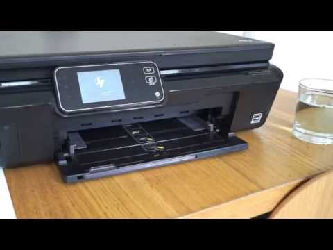 How to fix a HP Printer. not printing black ink and missing colours 5510 5515 5520 5524 3070A 364