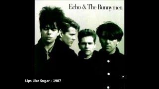 download lagu Echo And The Bunnymen - Lips Like Sugar With gratis