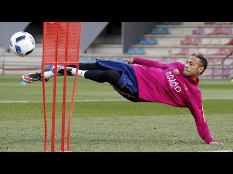 Neymar Jr ● Skills, Tricks, Freestyle in Training