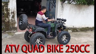 Test and review ATV Quad Bike 250cc