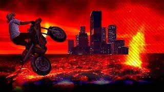 De vloer is Lava! - Oppressor uitdaging - Gunrunning DLC - Noway (GTA 5 ONLINE)