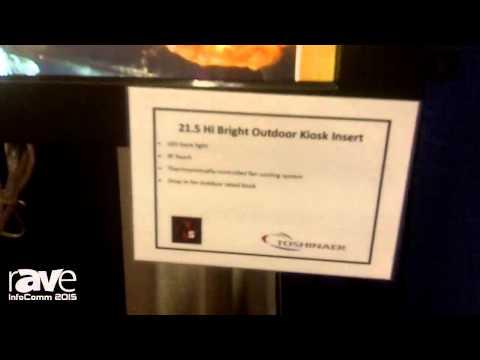 InfoComm 2015: North Star Digital Displays Features 21.5 Hi Bright Outdoor Kiosk Insert
