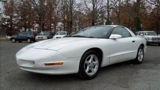 1996 Pontiac Firebird 3.8 5 spd Start Up, Exhaust, and In Depth Tour