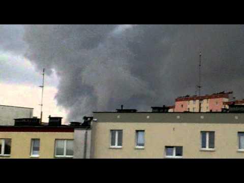Trąba Powietrzna W Olsztynie 08.08.2011r.