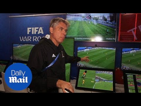 Official opening of the world cup broadcast centre with VAR - Daily Mail