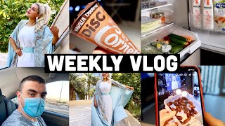 WEEKLY VLOG | CLEANING THE FRIDGE , KETO DIET , RAMADAN HAUL , COOKING ,MAKEUP ORGANISATION