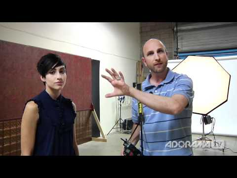 0 Digital Photography One on One: Episode 59: Inverse Square Law: Adorama Photography TV