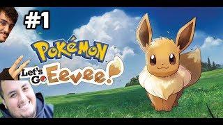 """Pokemon: Let's Go Eevee [Featuring Manny] Episode 1 """"Adorable Eevee"""""""
