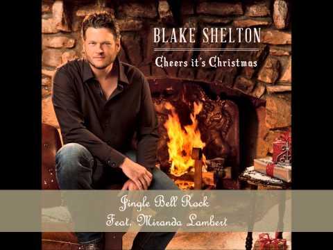 Jingle Bell Rock by Blake Shelton Feat. Miranda Lambert (Album Cover) (HD)