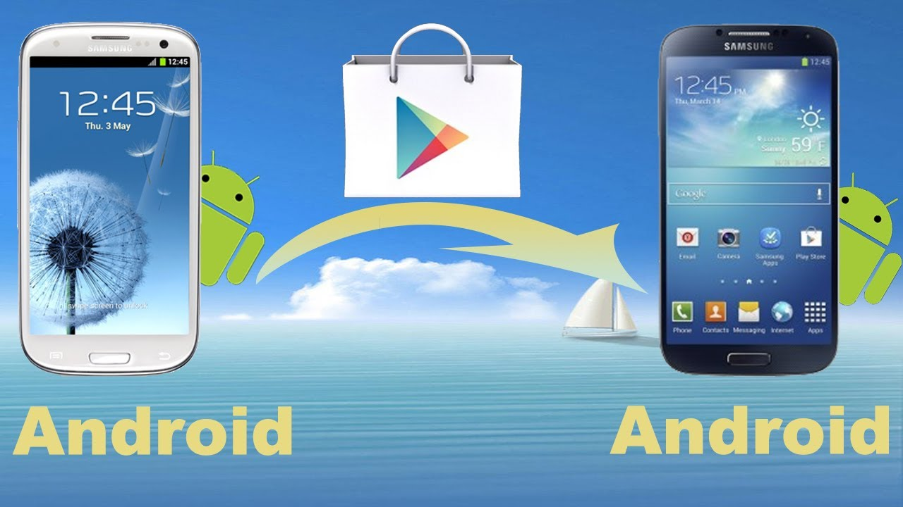 Android to Android App Transfer: How to Copy Apps from Android to new ...