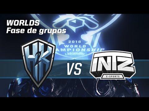 H2K vs Intz E-Sports - #worldsLVP2 - World Championship 2016 - Fase de grupos 2