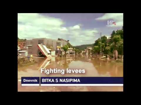 2014 Disaster Floods in Croatia, Bosnia and Serbia