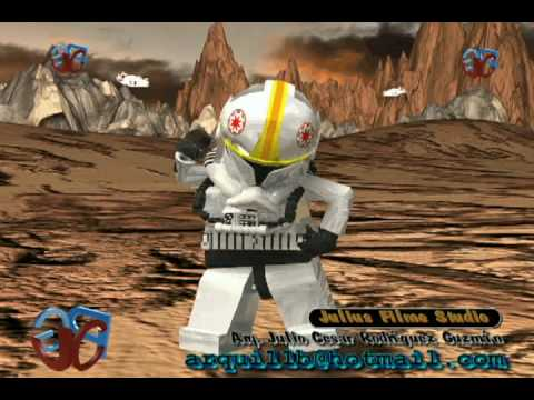 Lego Star Wars the clon wars :Julius Film Studio (Dancing Atack 3D)
