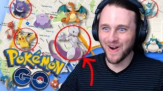 POKEMON GO MAP - FIND POKEMON ANYWHERE!! | +7 EVOLUTIONS [4]