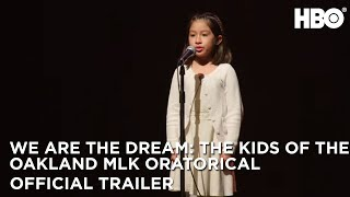 We Are The Dream: The Kids of the Oakland MLK Oratorical (2020) | Official Trailer | HBO