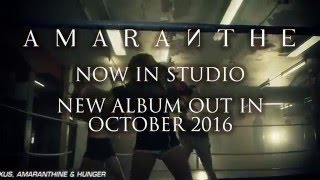 AMARANTHE officially entered the studio