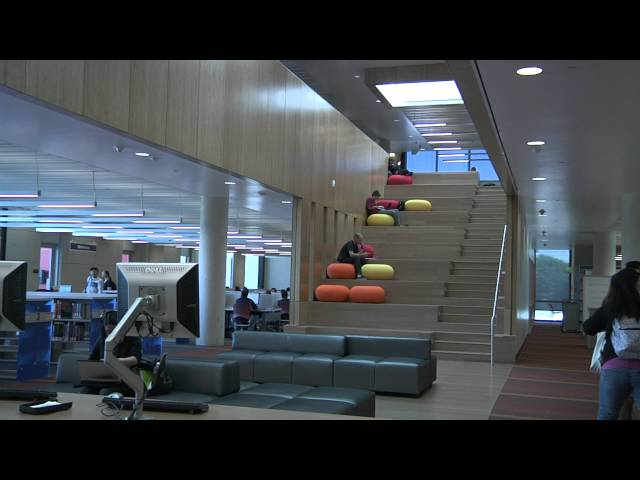 Learning Resource Center and Library - Golden West College