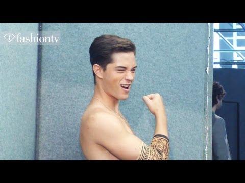 Dsquared2 Spring/Summer 2013: Dean & Dan Caten Backstage at Milan Men's Fashion Week   FashionTV