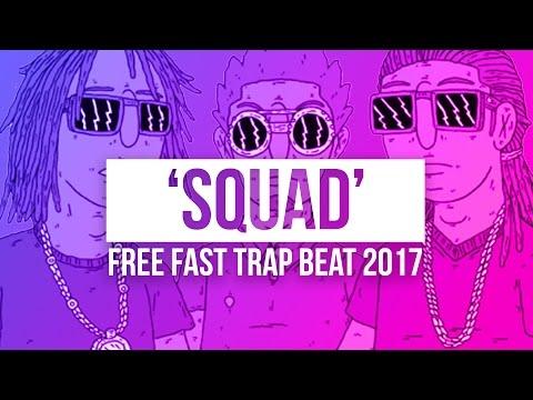 'SQUAD' Booming 808 Fast Trap Rap Beat   Rap Beat With Instrumental Hook   Chuki Beats