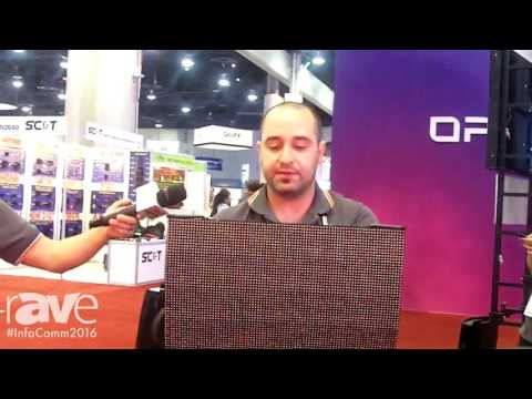 InfoComm 2016: Gtech Shows InnoPix5 Curved LED Display