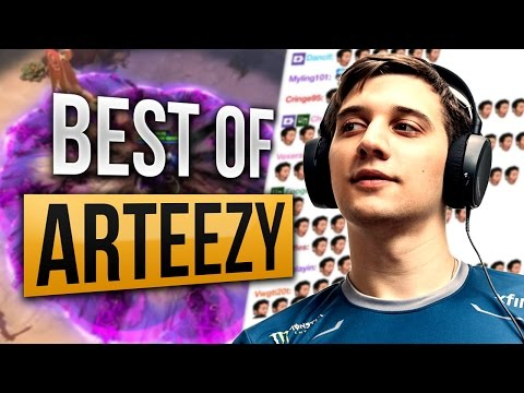 Arteezy Best Plays Compilation Dota 2