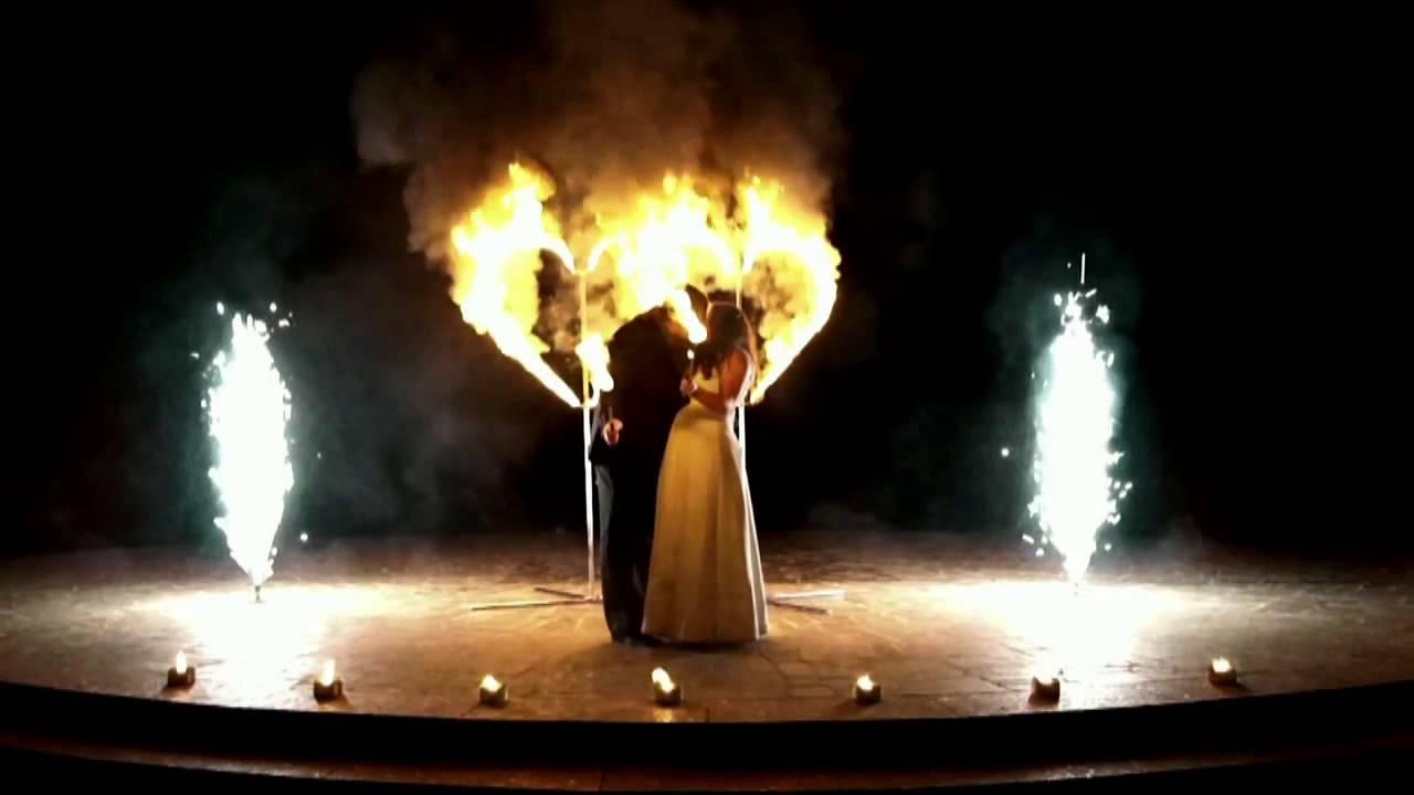 Шоу с огнем на свадьбу цена