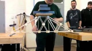 NSCC Civil Engineering Tech  2014 Year 1 Bridge Building Project