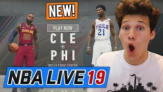 *NEW* FIRST EXCLUSIVE NBA LIVE 19 GAMEPLAY VS CASHNASTY!