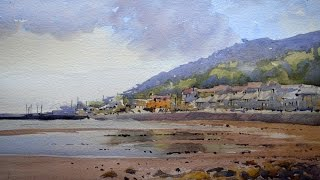 Painting a Beach in Watercolour