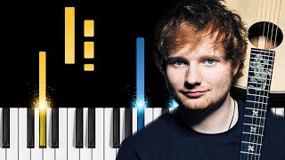 Ed Sheeran - Perfect Duet (with Beyoncé) - EASY Piano Tutorial