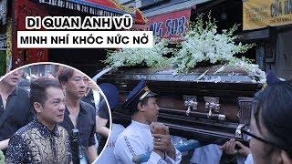 Di quan Anh Vũ, Minh Nhí khóc nức nở, hàng ngàn người ra đường tiễn đưa