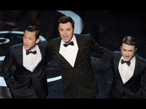 Seth MacFarlane Opening Oscars Monologue 2013 Highlights!