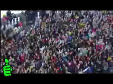 СУПЕР ФЛЭШМОБ  на Воробьевых горах !!! Организаторы молодцы !!!