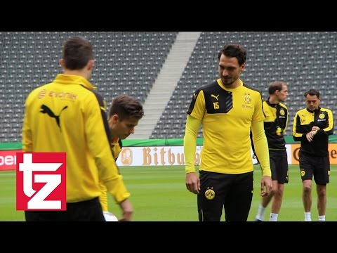 FC Bayern vs. Borussia Dortmund - Letztes Training von Mats Hummels beim BVB - Pokalfinale 2016