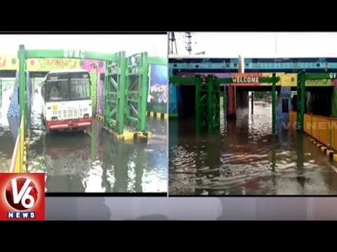 Sudden Rain Wreaks Havoc In North Coastal Andhra Pradesh | V6 News