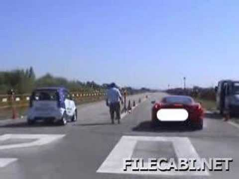 Ferrari vs Smart car