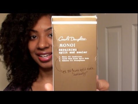 ::FIRST THOUGHTS:: Carol's Daughter Monoi Repairing Split End Sealer