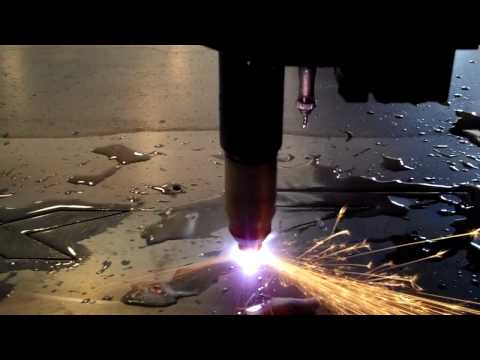 CNC Plasma Cutting Machine Ride Along