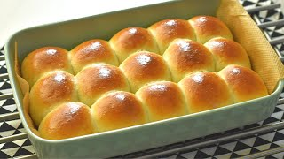 Quick Dinner Rolls Recipe / Soft and Fluffy Dinner Rolls in 4 simple steps